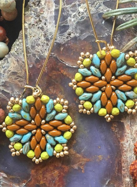 Class: Mandala Earrings January 30th, Thursday 6:00pm-8:30pm