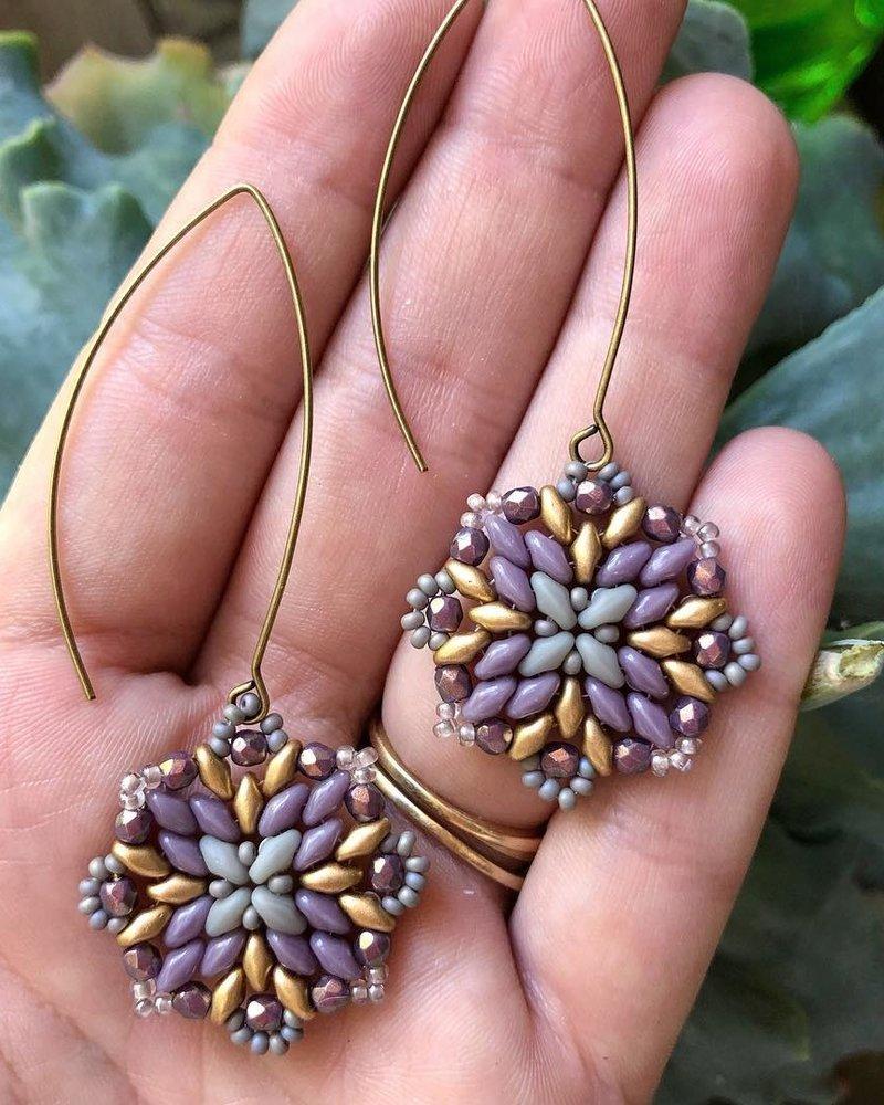 Class: Mandala Earrings January 30th, Thursday 6:00pm-8:30pm