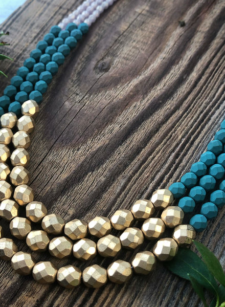 Class: Three Strand Necklace January 26th, Sunday 11:30am-2:00pm
