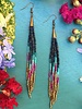 Class:Beaded Fringe Earrings January 16th, Thursday 6:00pm-8:30pm