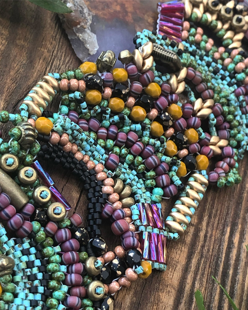 Class: Freeform Peyote March 7th, Saturday 11:30am-2:30pm