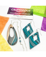 Class: Water Marbled Earrings February 8th, Saturday 2:00pm-4:00pm