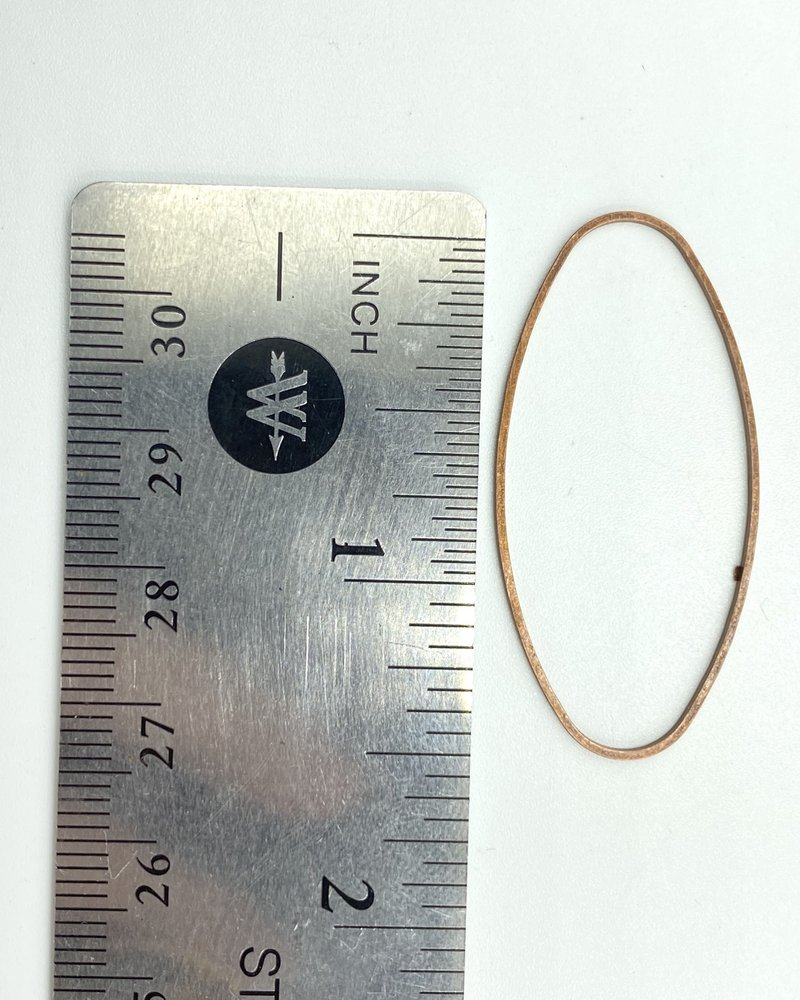 Oval Wire Frame-ANT.COPPER 6pc.