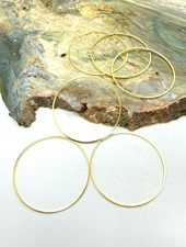 Large Circle Wire Frame-GOLD-6pc.