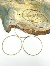 Large Circle Wire Frame- ANTIQUE BRASS-6pc.