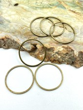 Small Circle Wire Frame-BRASS-6pc.