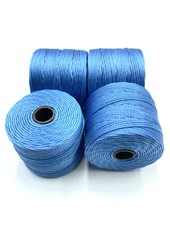 S-LON BEAD CORD CARRIBEA CAROLINA BLUE 77YD