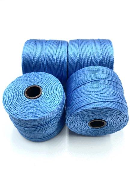 S-LON BEAD CORD CARRIBEA CAROLINA BLUE 77YD