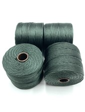 S-LON BEAD CORD EVERGREEN 77YD