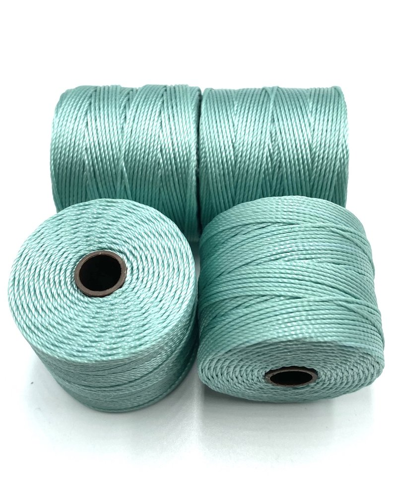 S-LON BEAD CORD: TURQUOISE 77YD