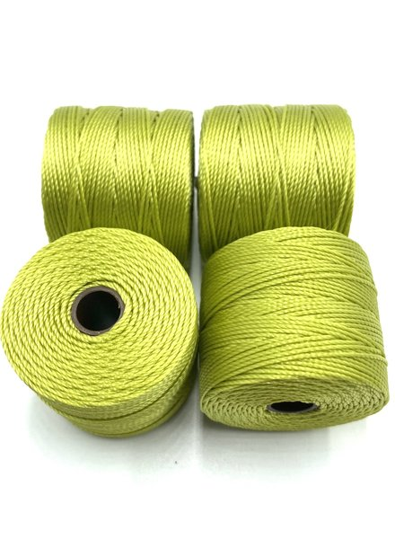 S-LON BEAD CORD CHARTREUSE 77YD