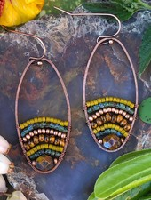 Beaded Loop Earrings KIT