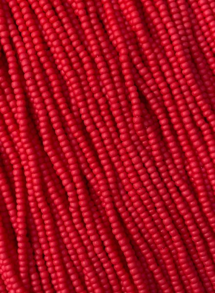 SIZE 11/0 #106m Chinese Red Matte