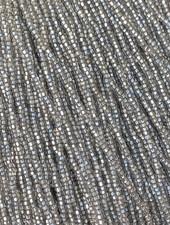 SIZE 11/0 #1312 Lt. Black Diamond Silver Lined