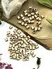 2x2 Satin Gold Tube Crimp Bead-100pc