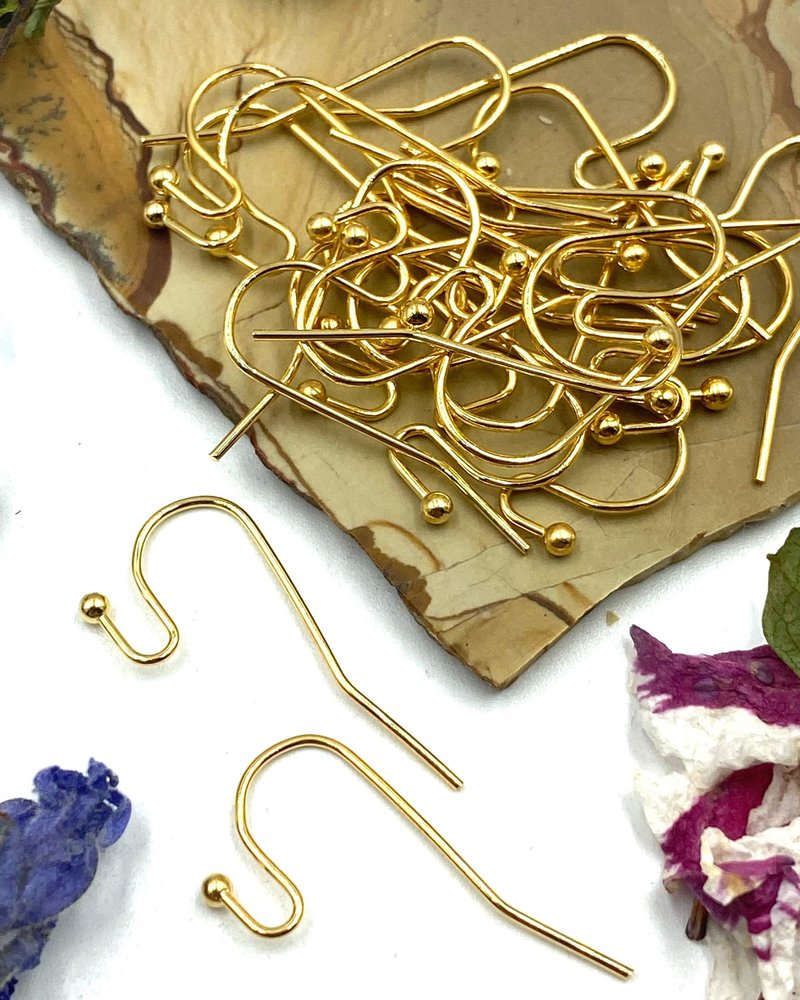 GOLD French Earwire with 2mm Ball