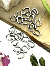 WIRE PROTECTORS: ANTIQUE SILVER- 24PC