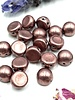 CzechMates Cabochon 7mm ColorTrends: Saturated Metallic Butterum