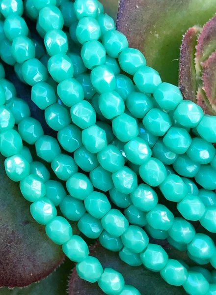 Firepolish 3mm : Green Turquoise