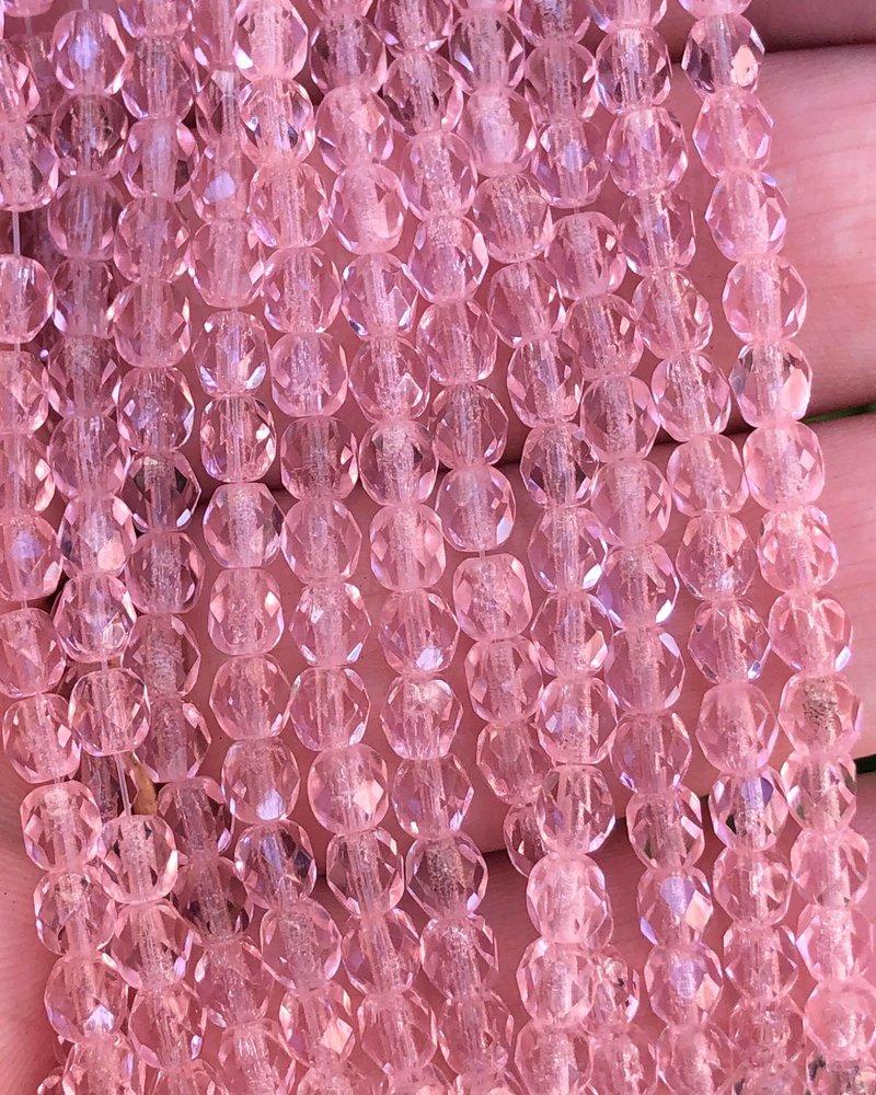 Firepolish 4mm : Pink