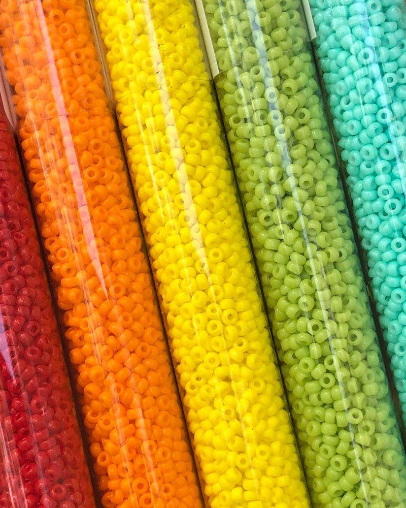 Size 11/0 Miyuki Round Combo: Primary Colors