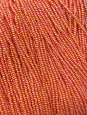 SIZE 11/0 #627 Dark Orange Rainbow