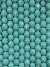 Firepolish 6mm : Opaque Turquoise