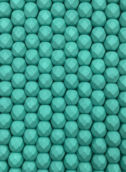 Firepolish 6mm : Saturated Teal
