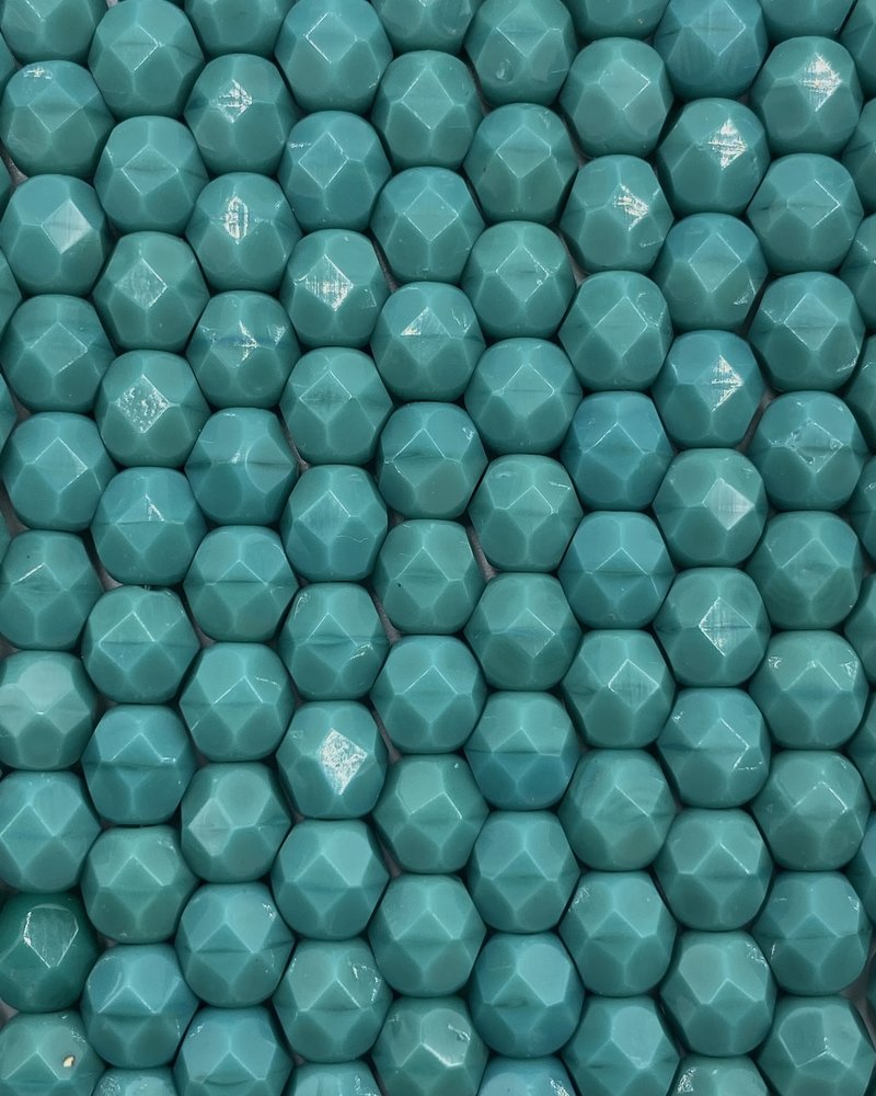Fire-Polish 6mm : Persian Turquoise