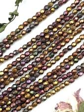Firepolish 3mm : Matte - Metallic Bronze Iris