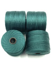S-LON BEAD CORD GREEN BLUE 77YD