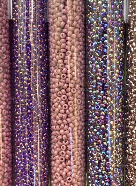 Size 11/0 Miyuki Round Combo: Purple Rain