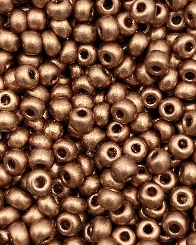 SIZE 6/0 #597 Light Copper Supra Metallic