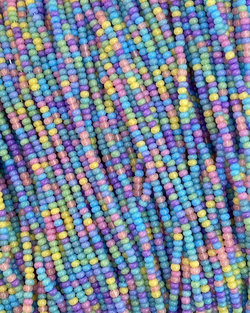 SIZE 11/0 #1487 Cotton Candy Mix