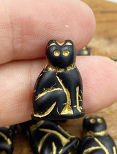 20mm Jet Gold Cat