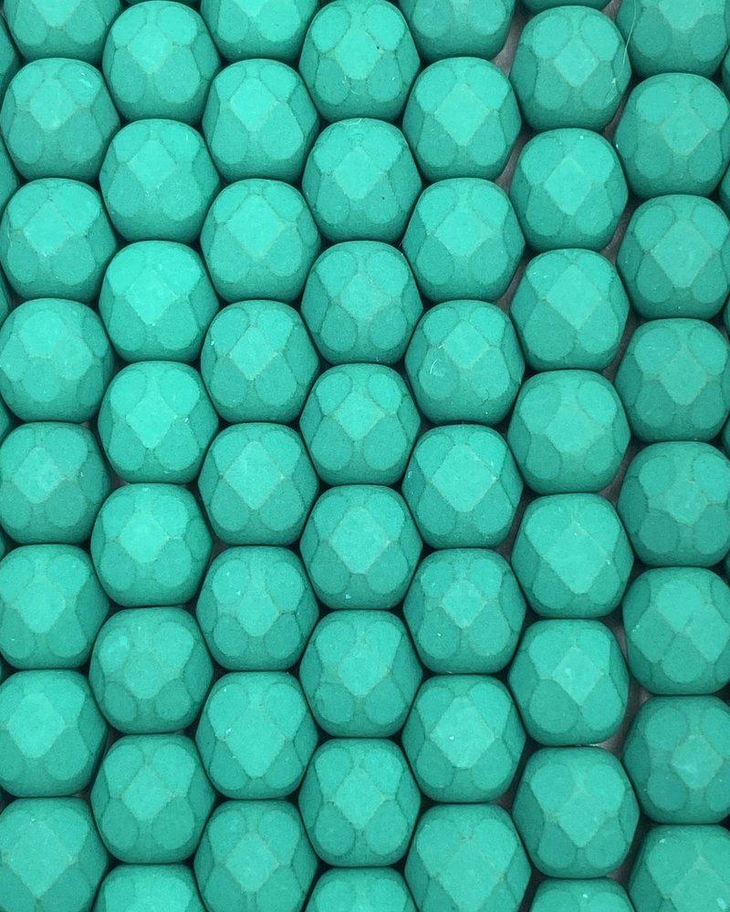 Firepolish 6mm : Neon - Emerald