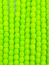 Firepolish 3mm : Neon Lime Green