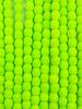 Firepolish 3mm : Neon Lime Green