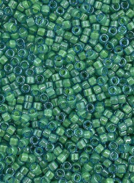 11/0 DELICA LUMINOUS MERMAID GREEN