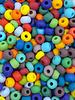 SIZE 6/0 #417m Matte Opaque Rainbow Mix