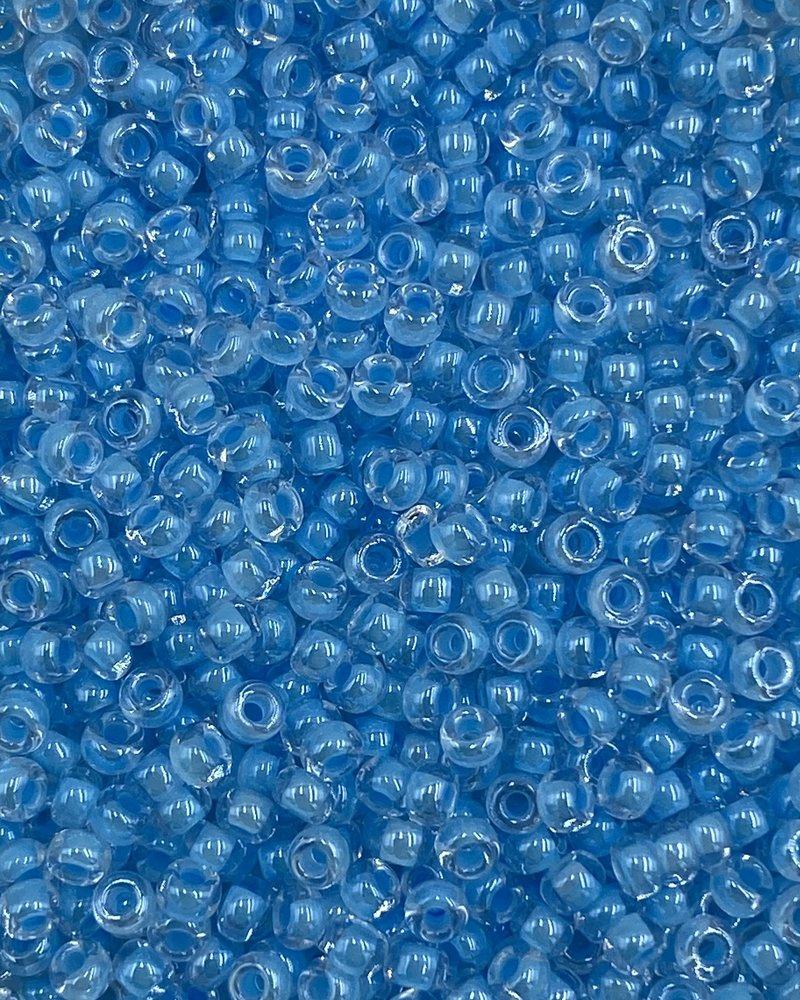 Size 11/0 Miyuki Round: Luminous Ocean Blue
