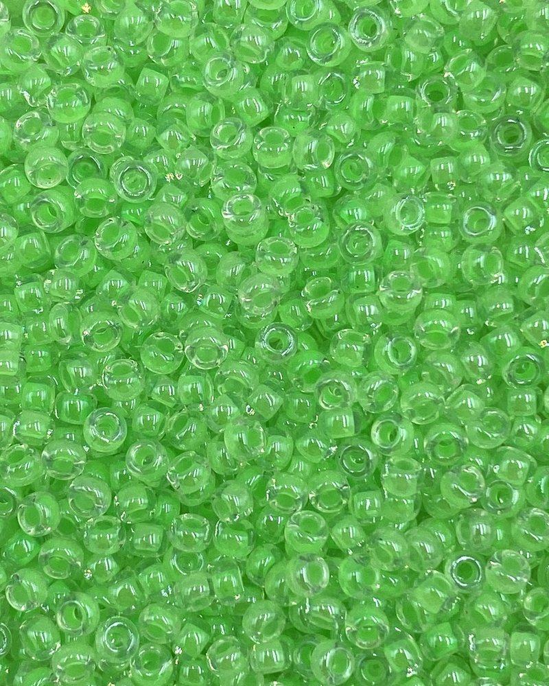 Size 11/0 Miyuki Round: Luminous Mint Green