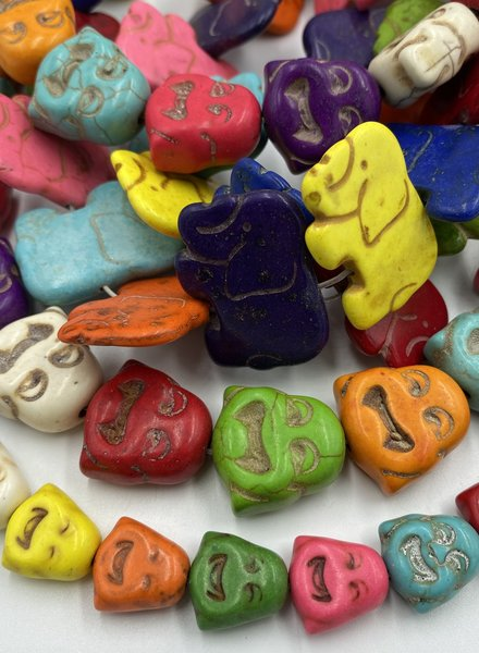 Closeout: Rainbow Magnesite Buddha & Elephants