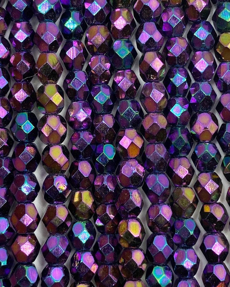 Firepolish 4mm : Iris - Purple