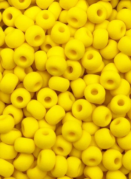 SIZE 6/0 #132m Dk. Yellow Matte