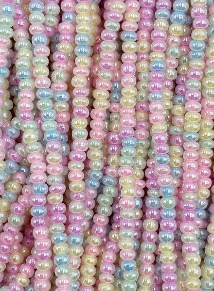 SIZE 11/0 #115 Tutti Fruity Pearl