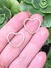 Heart: Gold- 1 Pair
