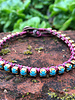 Cup Chain Bracelet KIT Turquoise/Purple