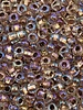 SIZE 6/0 #860 Crystal Copper Lined Rainbow