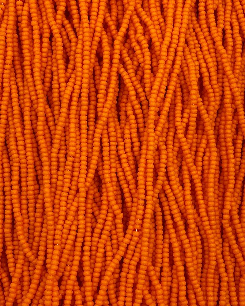 SIZE 11/0 #111m Matte Dark Orange